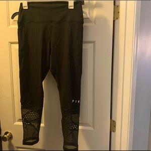 Black VS Pink leggings